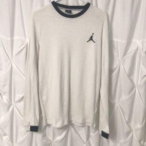 Jordan All Day Jump Man Thermal Mens Shirt L
